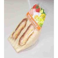 plastic fast food sandwich bread packing wrapper and bag