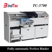 Fully Automatic Book Binding Machine Electric Hot Melt Glue Perfect Book Binder
