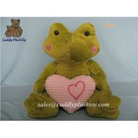 Stuffed Frog Soft Toys for Valentine