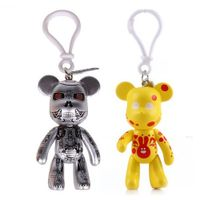 Custom made promotional key chain best selling Bear key chain for sale with Carabiner thumbnail image