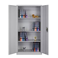 Factory Direct Steel Storage Cupboard with adjustable 4 Shelves