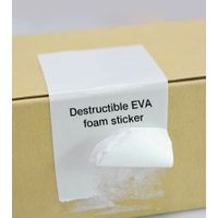 Destructible Eva Foam Sticker
