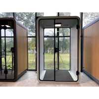 Two Person Portable Acoustic Meeting Booth Office Pods For Conference