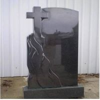 Black Marble Tombstone