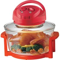 Best price halogen oven with ce gs approval red