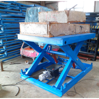 Heavy duty Hydraulic Stationary Scissor Lift Table Fixed Scissor Lift