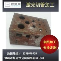 Made in china with cheap price iron pipes in 3D Laer cutting open holde hot sale thumbnail image