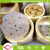 Dim sum paper for bamboo steamer thumbnail image