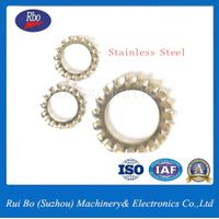 China Suupplier High Quality DIN 6798A Tooth Factory Spring/Lock Washer / Washers