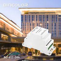 DIN Rail DMX512 Signal Amplifier BC-812-DIN