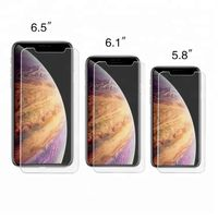 2.5D 9H 0.3MM Clear Tempered Glass Screen Protector for iPhone 2019 5.8 inch 6.1 inch 6.5 inch thumbnail image
