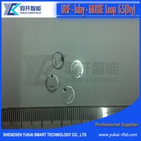RFID UHF Small Round Inlay, loop inlay, 6.5mm or 11mm diameter(Exclusive sales of the company)