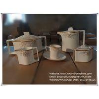 61pcs for 8 people fine bone china dinnerware dinner set