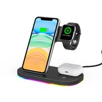 10% Off 15w 3-in-1 Wireless Charger Station for iPhone Devices PM-Z7S thumbnail image