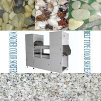 Minerals color sorting machine