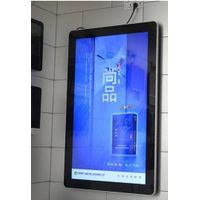 "21.5"" wall mount android advertising player Digital signage player multi media ad player for superma"