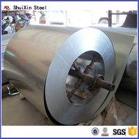 Tangshan SHUIXIN STEEL hot dipped galvanized steel sheet in coil