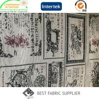 70%Pes 30%C Yarn Dyed Jacquard Colorful Sofa Tablecloth Decorative Fabric Supplier