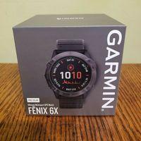 New Garmin Fenix 6X Pro Solar GPS 51 mm Titanium Multisport Watch Original