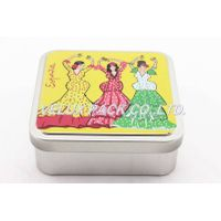 Square Metal Tin Boxes