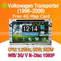 Android DVD Player for Volkswagen Transporter Navigation Wifi 3G