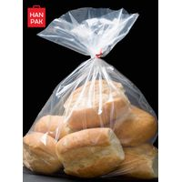Flat bags on roll with heat sealing for grocery from Vietnam manufacturer thumbnail image