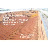 USED SPRIT HOPPER BARGE 39.00M X 12.00M X 3.80M OF CAPACITY 700M3