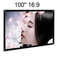 Simple Foldable Portable Front Projection Screen Without Frame thumbnail image