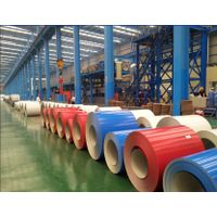 PE color prepainted 0.5mm thickness aluminum coil for roofing