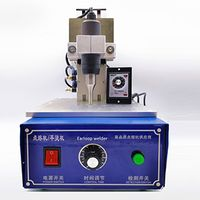 Cheapest 2020 Face Mask Ultrasonic Ear Loop Welding Machine Ear band Single Spot Welding Machine For thumbnail image