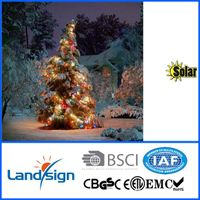 New 100 LED Solar Powered String Lights Outdoor Garden Party Christmas Lighting thumbnail image