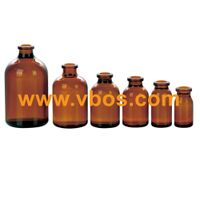 AMBER GLASS BOTTLES FOR TABLET WIDE MOUTH G.P.I400 thumbnail image