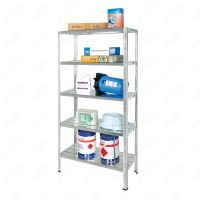 5 Shelf Metal Storage Rack Unit