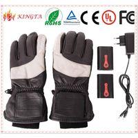 Winter Windproof Warm Waterproof Battery Heated Gloves,ski gloves thumbnail image