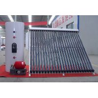 split pressurized solar water heater system for cold area