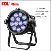 12 pcs 10w LED par light with zoom and stepless dimming