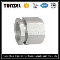 Malleable Iron three piece type Rigid coupling by Chinese Supplier