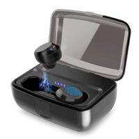 TWS Bluetooth 5.0 Wireless Headset Touch Control Auto Pairing IPX8 Waterproof Two Headsets thumbnail image