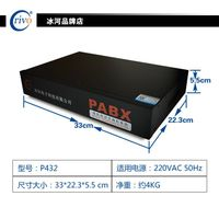 Factory price Telephone system/PABX /office PBX /P432