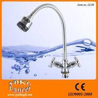 Bath & shower faucets chrome Free Flexsible Hose Single Handle with 2-function