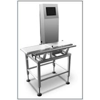 Automatic Conveyor Check Weigher With Partical Belt Flap Rejector thumbnail image
