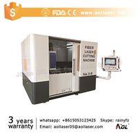 fiber laser cutting machine special for metal cutting
