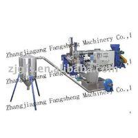plastic granulating machinery