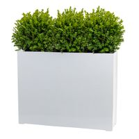 Fiberglass Planter Box - Fiberstone Plant Pot - Polystone Pots - Fiber Clay Planter - Trough Planter