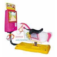 Coin Operated Swing Kiddie Rides Rocking with 17Video Game- Dream Horse thumbnail image
