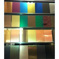 Coloured Stainless Steel PVD Coating Sheet Plate-PVD Coating Sheet