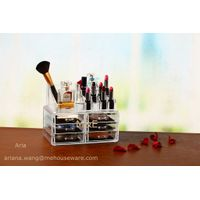 Competitive Acrylic Makeup Organizer with 6 Drawer and Top
