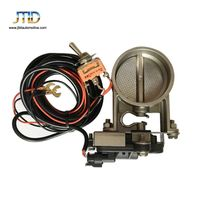Manual valve SS Electric Exhaust Cutout Muffler Pipe Kit