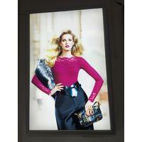 Fabric Led Light Boxes 45mm Thickness Fabric Frameless Backlit LED Illuminated Light Box thumbnail image