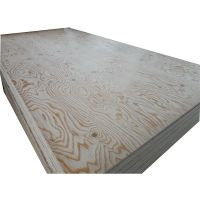 Russian larch veneer faced plywood, embossed larch plywood